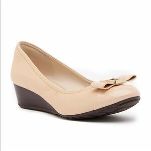 ✨COMING SOON✨ Emory Bow Leather Wedge Pump